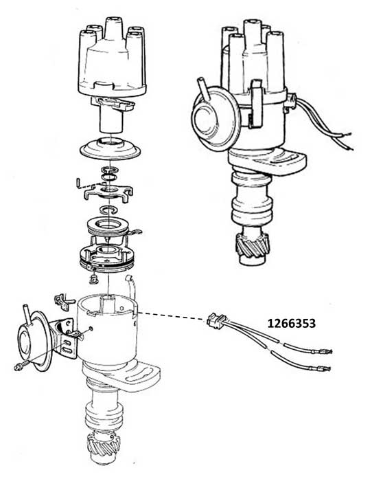 Volvo 198182 240 Ignition Distributor: Volvo 240 Wiring Diagram At Hrqsolutions.co