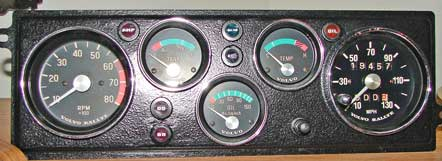 Volvo 140 Rallye GT gauge faces. Dave's Volvo                       Page.