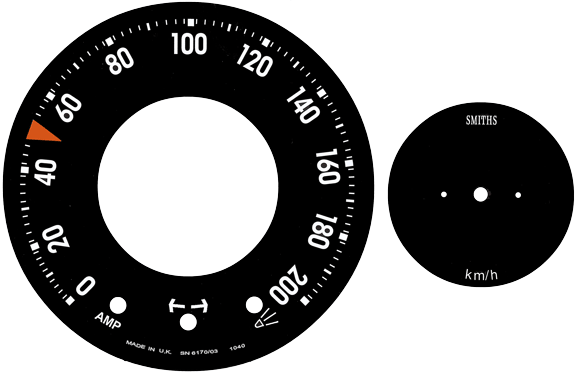 Dave's Volvo 240 White Face Gauges