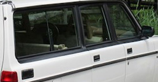 Volvo 240 side                         door vinyl stripe kits.