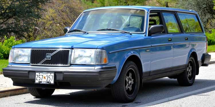 Volvo 240 244 245 Front DRIVER side corner left bumper trim 1986-1993