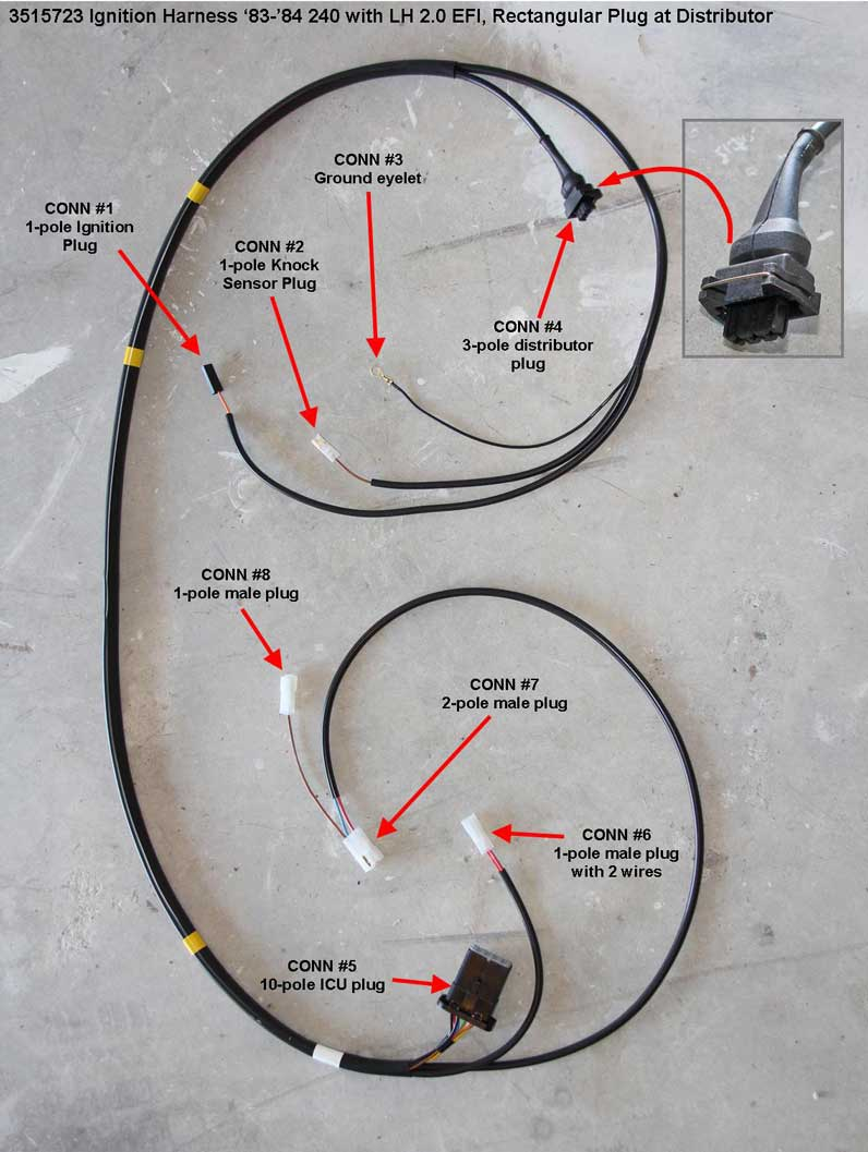 Dave s volvo page engine wire harnesses