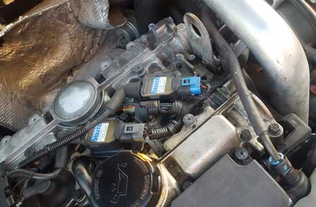 Volvo 200-2004                       S40 5cyl coil repair harness.