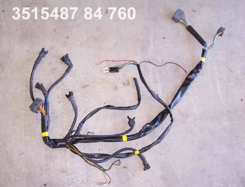 Volvo 1984 760 6 cyl engine wire harness PN                         3515487.