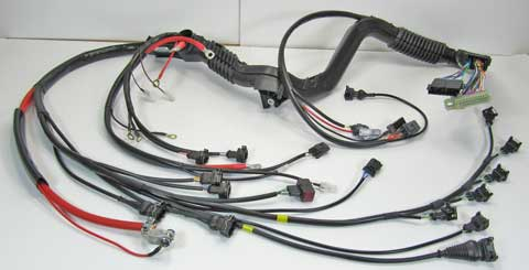 Volvo 1996-97 850 R                                     5cyl Turbo engine wire harness PN                                     9442145.