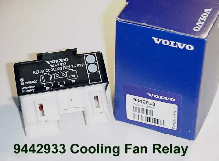 9442933 Volvo Cooling Fan Relay