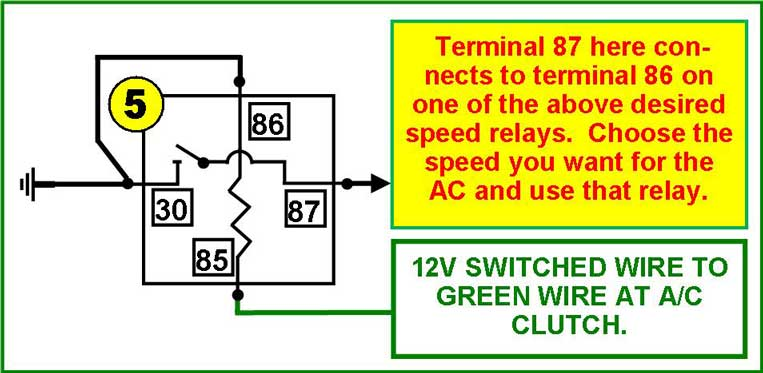 Ac Safety Switch Wiring With Electric Fan Relay - List of ... on