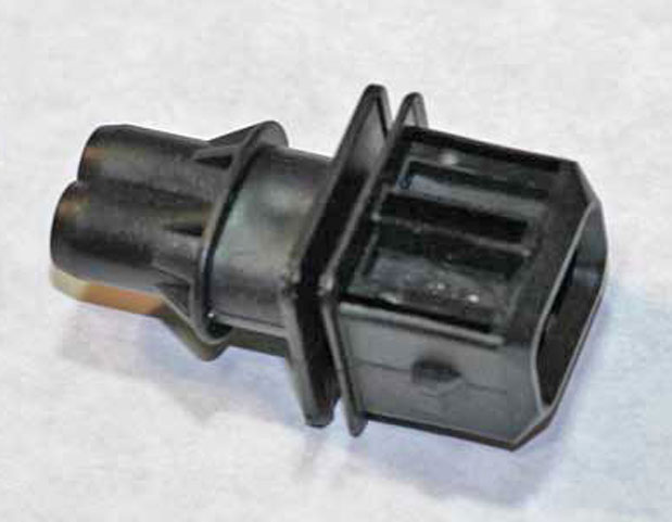 Fuel Injection Male 2-Pole Plug