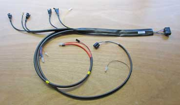 Volvo 1981-85 240 Turbo B23FT engine                               wire harness PN 3515394.