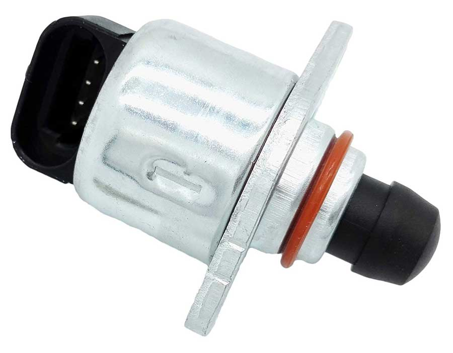 iac motor for gm (2007 chevy silverado and many others)  4-pole connection   cost will be $10 to $90, so shop around