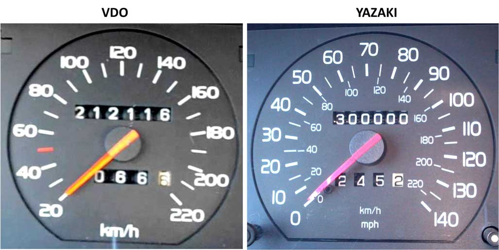 Volvo 740 and 850 Odometer Repair