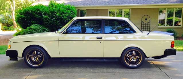 Yount's 1982 Volvo 242 DL