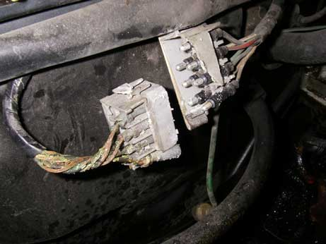 volvo 240 bad engine wiring harness