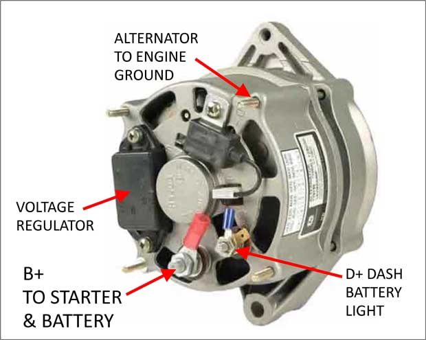 boschalternatorlo dave's volvo page volvo adjustable voltage regulators bosch alternator for 1970 vw wiring diagram at aneh.co