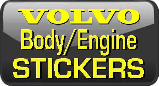 Volvo Underhood, Body and Chassis                     Sticker and Labels