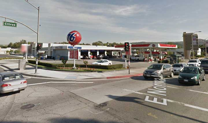 Old Gas Stations In Northern California: Unleaded Race/Racing Fuel At The Pump In California