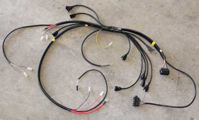 dave s volvo page volvo engine wire harnesses rh 240turbo com 1989 Mustang Wiring Harness Schematic 1989 Mustang Wiring Harness Schematic
