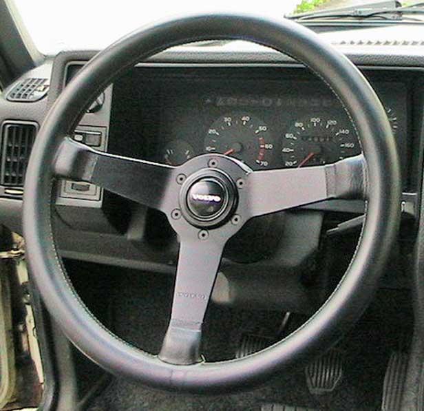 Volvo 240 Engine Mods: Volvo Horn Buttons, Volvo R-Sport Horn
