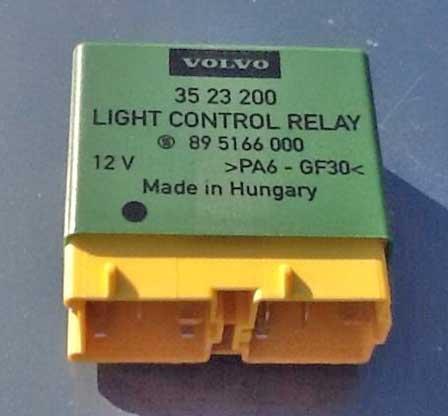 3523200 Volvo Headlight Relay