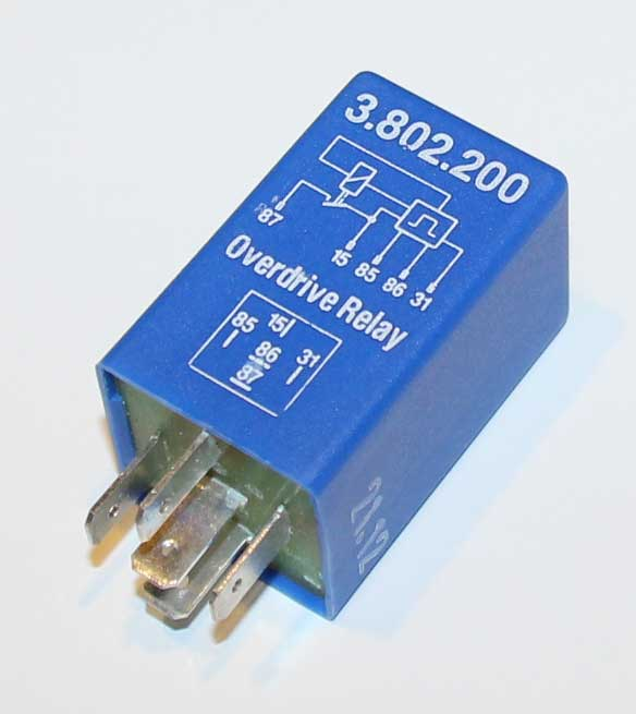 Volvo blue M46 overdrive relay PN 1259750.