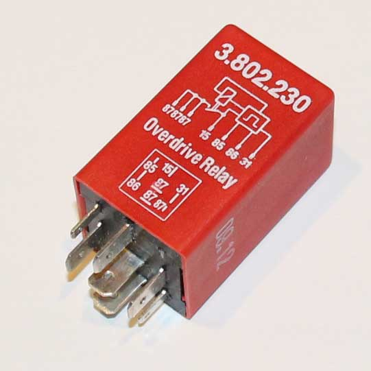 Volvo red M46 overdrive relay PN                                   3523805.