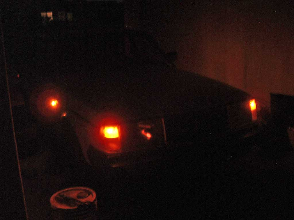 Volvo 240 with side marker lights.