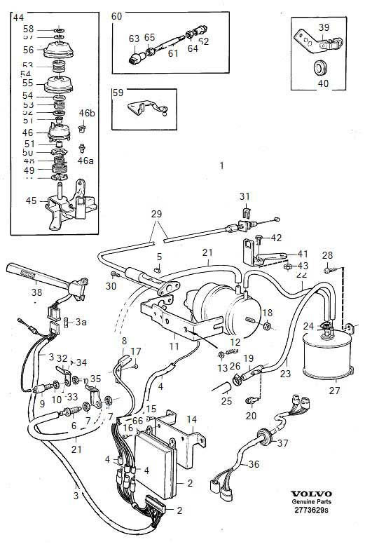 volvo vacuum diagrams