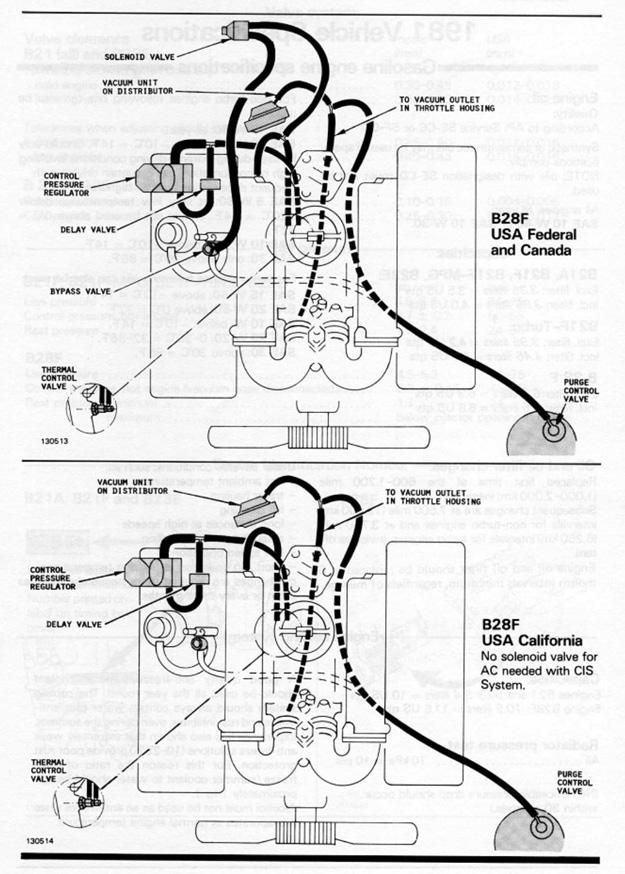volvo vacuum diagrams rh 240turbo com 1999 Volvo S80 2.9 Engine 1999 Volvo S80 Problems